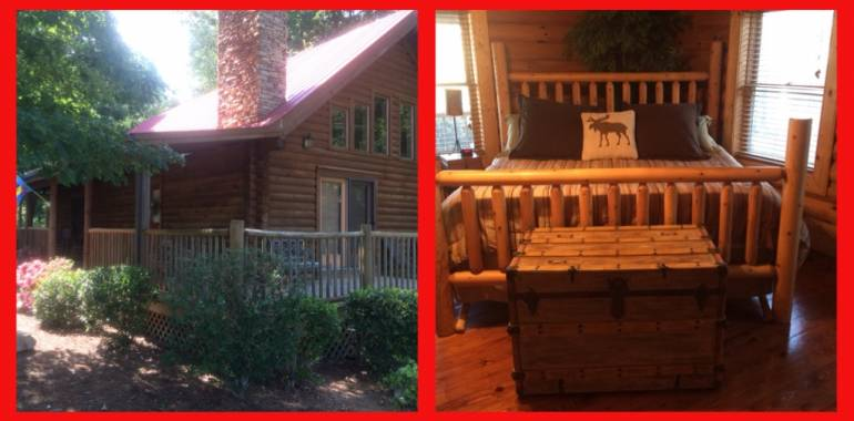 Getaway for Valentines Day at Deer Creek Cabin!