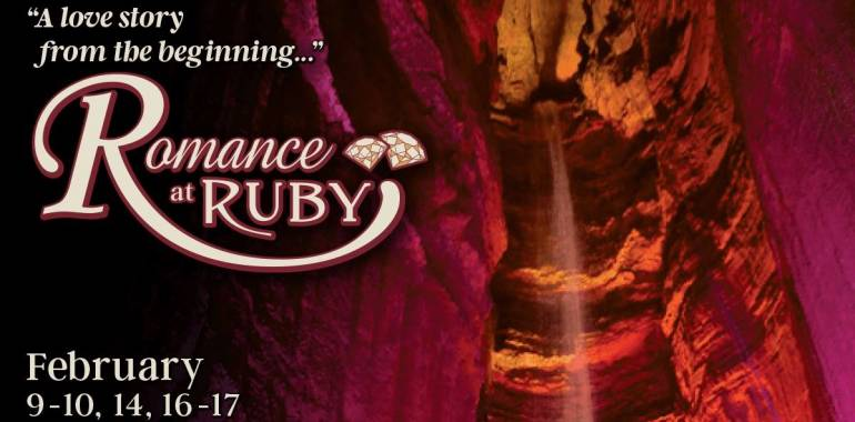Romance at Ruby Falls!  Make Valentines Special!