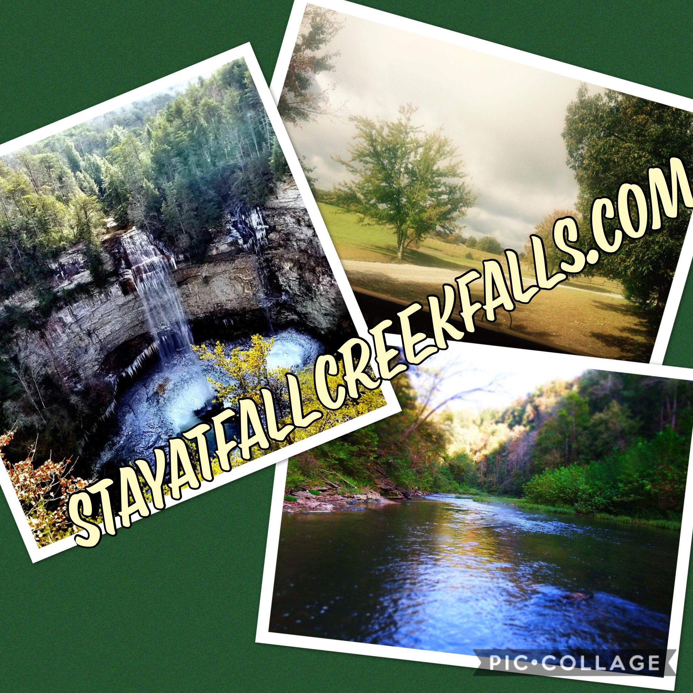 listing rentals cabins falls cottages cabin creek fall cozy