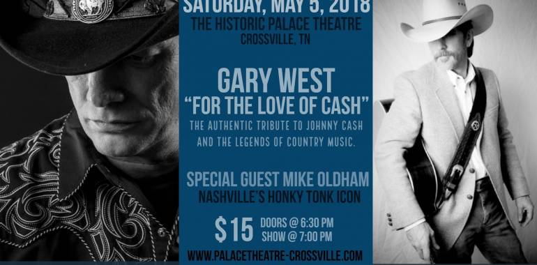 For the Love of Cash-A Tribute to Johnny Cash-May 5, 2018