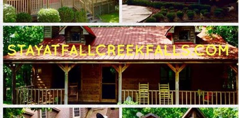Beautiful Cabins at Fall Creek Falls-Book your Summer Vacation Today!