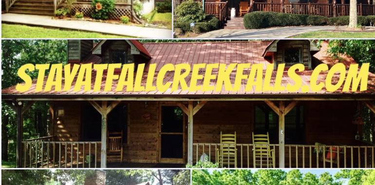Have it ALL at FALL CREEK FALLS!  Make Tennessee your Summer Destination!