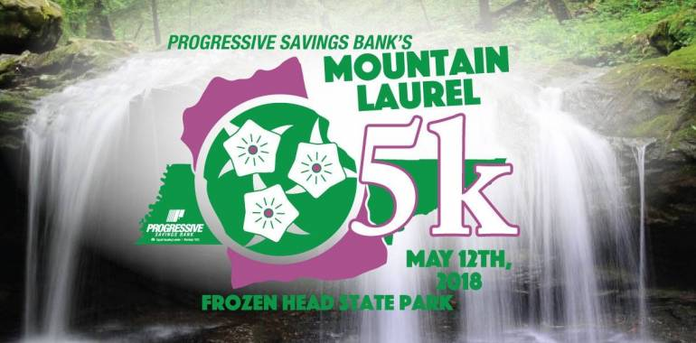 Mountain Laurel 5K Run-May 12, 2018
