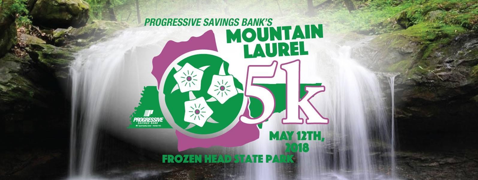 Mountain Laurel 5K Run-May 12, 2018