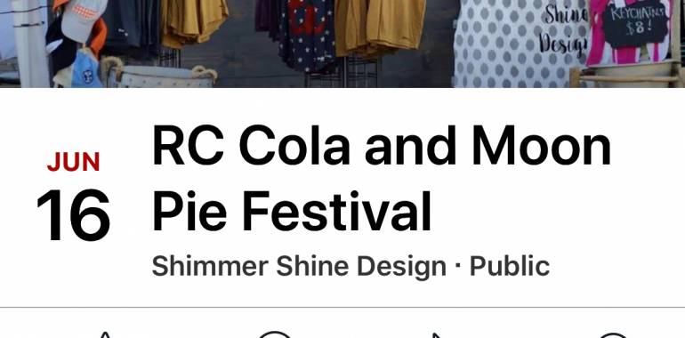 RC Cola & Moon Pie Festival-June 16, 2018