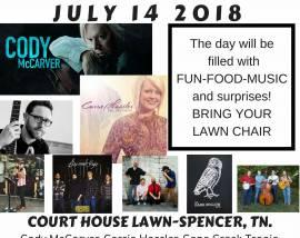 Van Buren County Mountain Homecoming-July 14, 2018