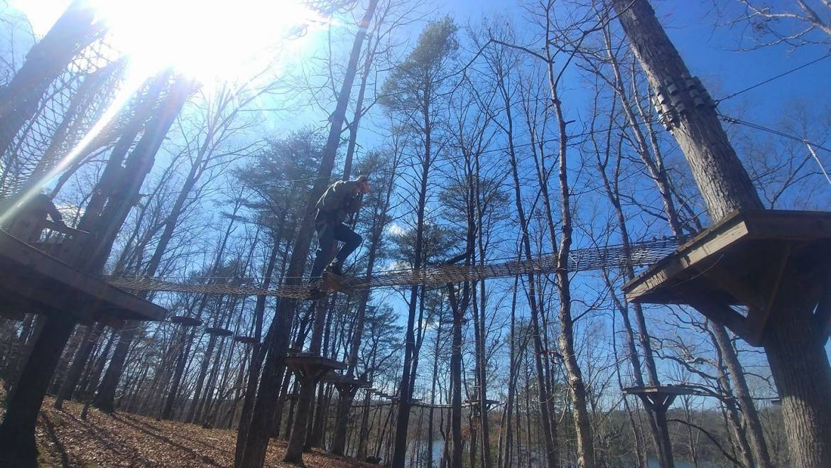Summer Night Tours-Canopy Challenge Course at Fall Creek Falls State Park