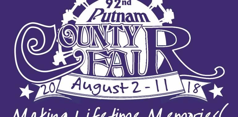 Putnam County Fair-August 2-11, 2018