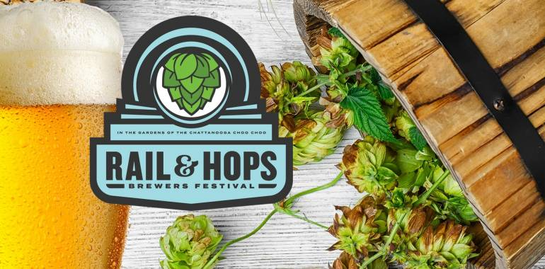 Rail & Hops Brewers Festival-August 25, 2018 Chattanooga