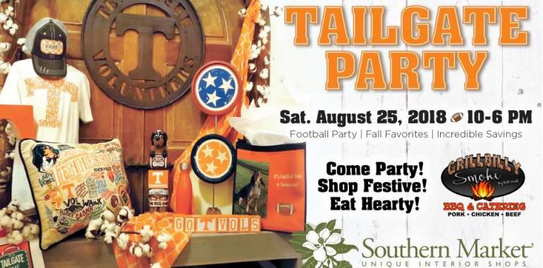 Tailgate Party for the Tennessee Vols!