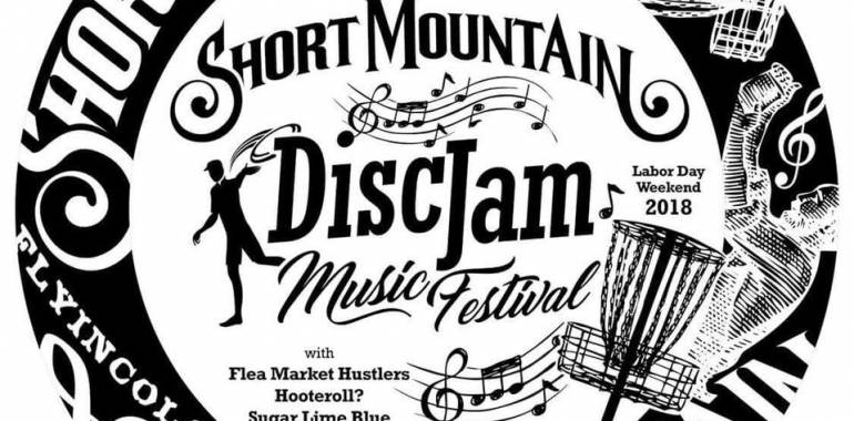 5th Annual Short Mountain Disc Jam! August 31-Sept 3, 2018