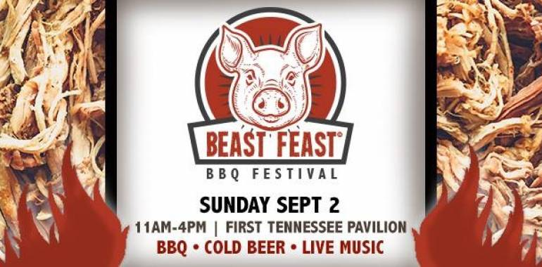 Beast Feast BBQ Festival-The Chattanooga Market-Sept. 2, 2018