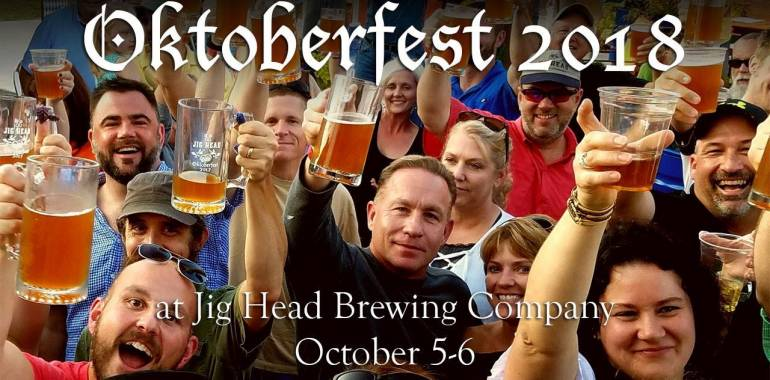Oktoberfest 2018 at Jig Head Brewing Company