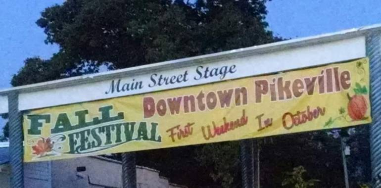 Fall Festival in Pikeville, TN October 6, 2018