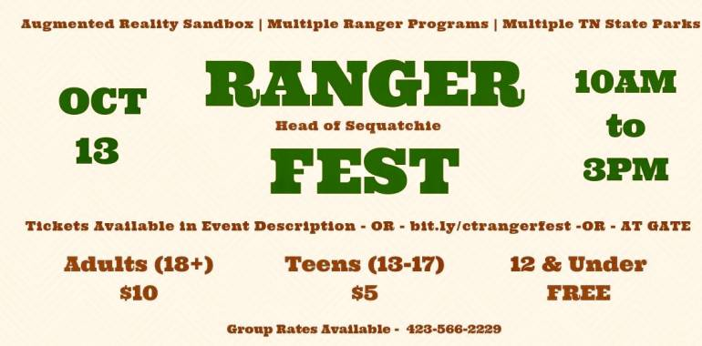 Ranger Fest-Head of Sequatchie-October 13, 2018
