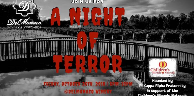 HalloWINE Haunted Hayride-DelMonaco Winery-October 26, 2018