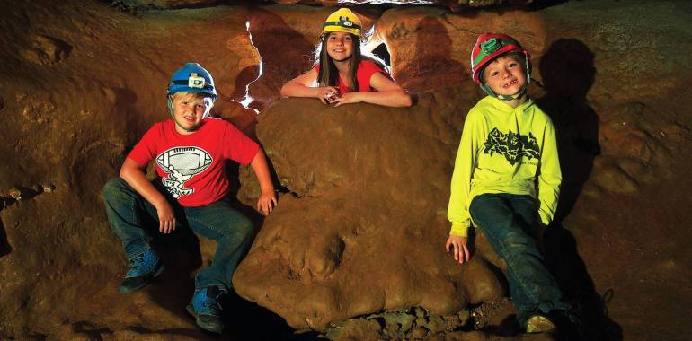 Caving Adventures at Cumberland Caverns December 22, 2018