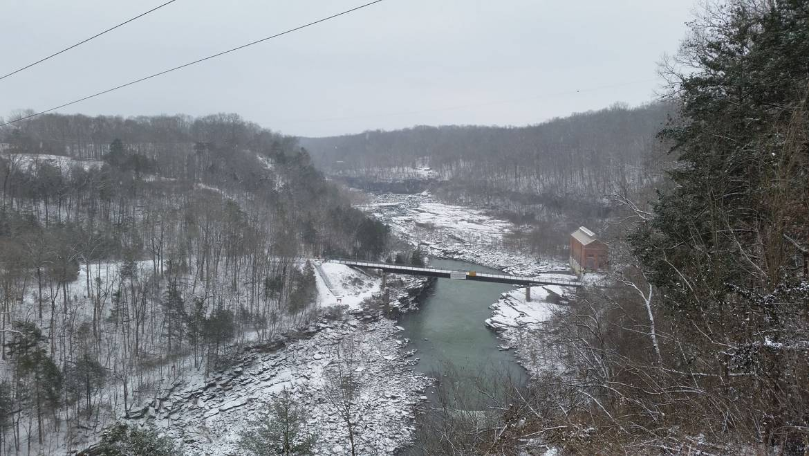 New Years Hike-Rock Island State Park-January 1, 2019
