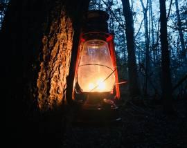 Lantern Hike to Crystal Falls-January 18, 2019 Pickett Civilian State Park
