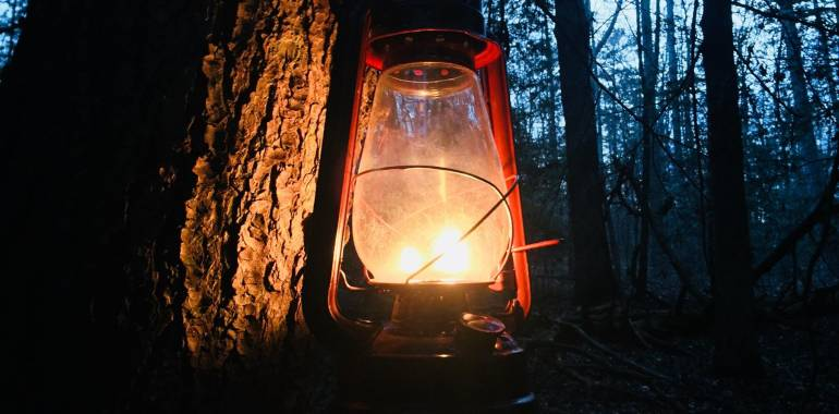 Lantern Hike to Crystal Falls-January 18, 2019 Pickett Civilian State Park