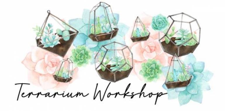 Terrarium Garden Workshop-February 2, 2019-The Barn Nursery