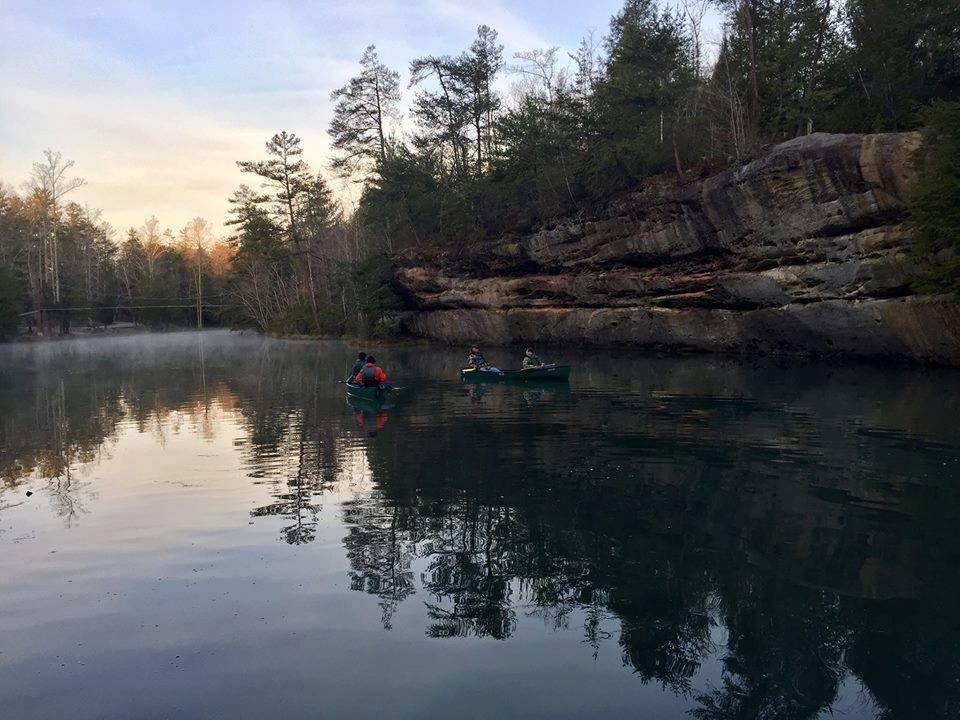 Morning Canoe Float-Pickett Civilian State Park-March 16, 2019