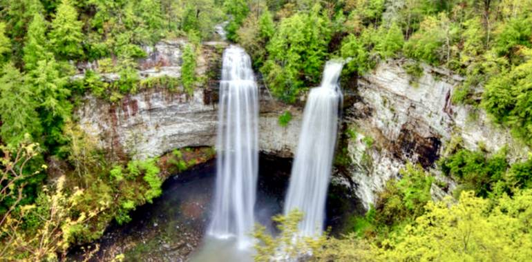 Hike to the base of Fall Creek Falls State Park-October 11, 2019