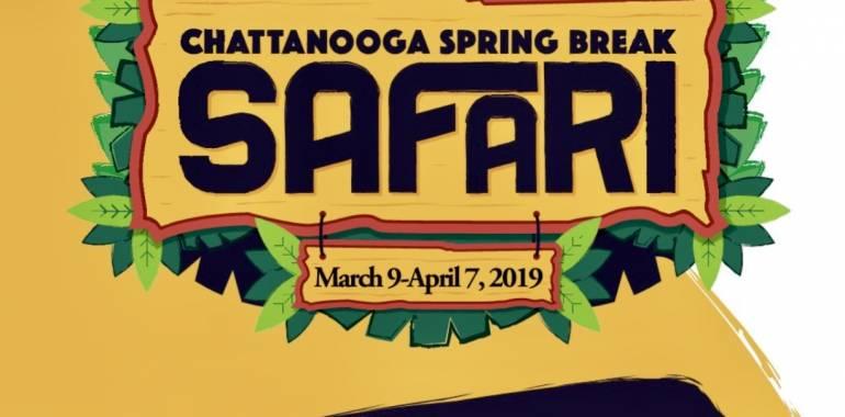 Chattanooga Spring Break Safari & Scavenger Hunt-March 9-April 7, 2019