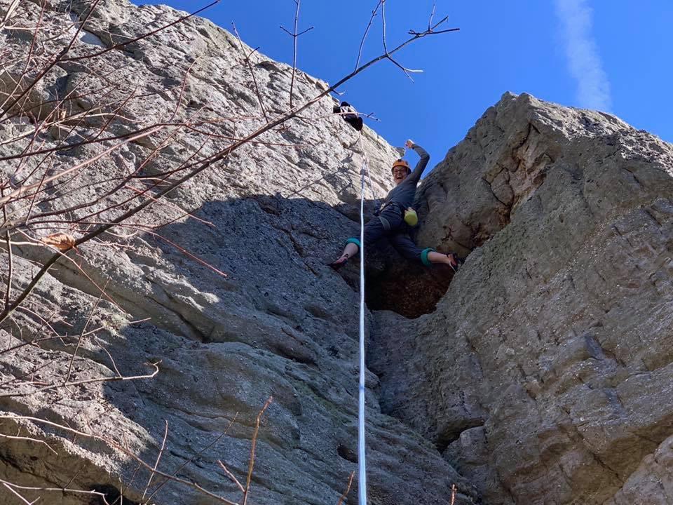 Spring Rock Climbing Workshop-Cumberland Mtn. Park-April 26-28, 2019