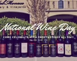 National Wine Day at DelMonaco Winery & Vineyards-May 25, 2019