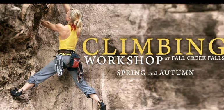 Rock Climbing Workshop at Fall Creek Falls-May 17-18, 2019