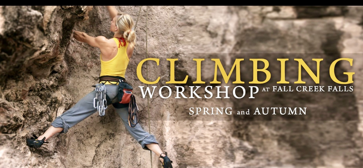 Rock Climbing Workshop at Fall Creek Falls-May 17-18, 2019
