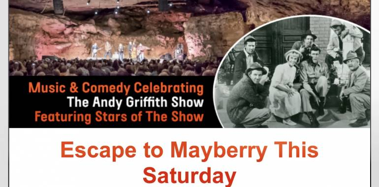 "Escape to ""Mayberry"" at The Caverns-May 25, 2019"