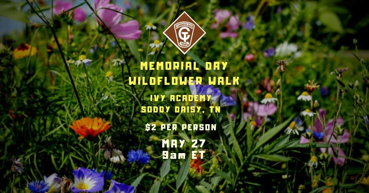 Memorial Day Wildflower Walk at Cumberland Trail-May 27, 2019