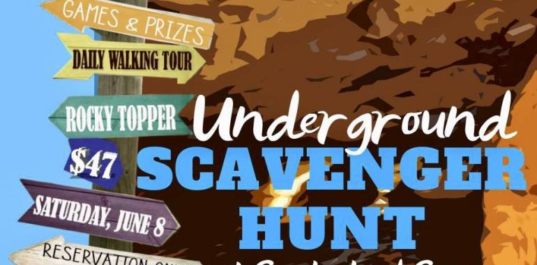 Underground Scavenger Hunt at Cumberland Caverns-June 8, 2019