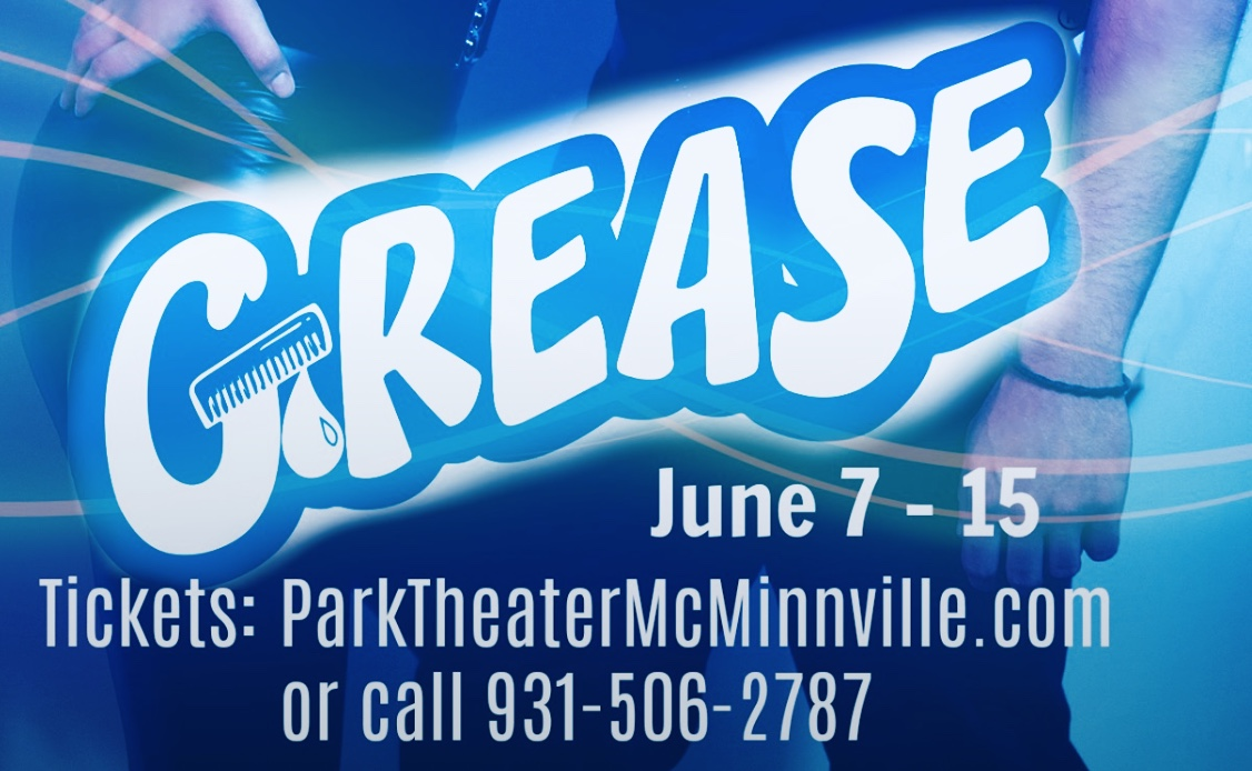Grease The Musical-The Park Theater-McMinnville, TN-June 7-15, 2019