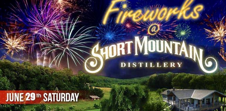 Fireworks and Barbecue at Short Mountain Distillery-June 29, 2019