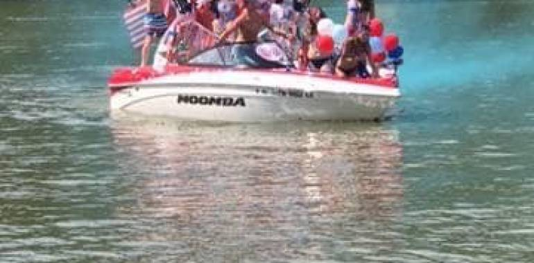 11th Annual Boat Parade-Cotten's Marina-July 5, 2019