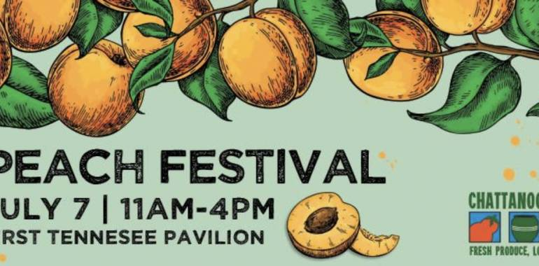 The Peach Festival-The Chattnooga Market-July 7, 2019