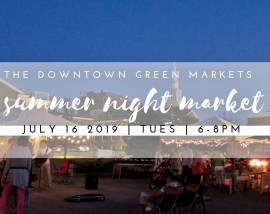 Summer Night Market-Cookeville, TN-July 16, 2019