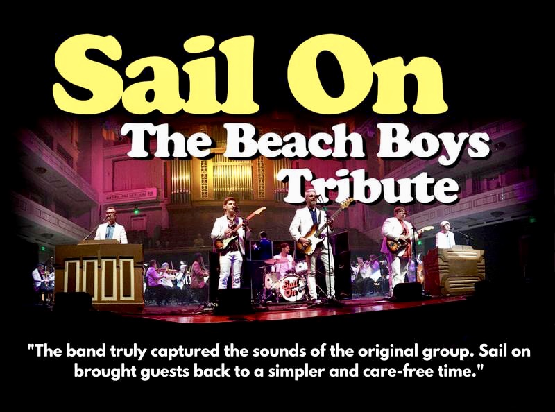 Main Street Live featuring Sail On-The Beach Boys Tribute-August 16, 2019