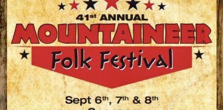 41st Annual Mountaineer Folk Festival-September 6-8, 2019