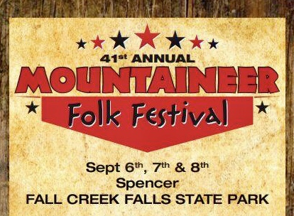 41st Annual Mountaineer Folk Festival-September 6-8, 2019