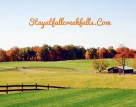 Fall is just around the corner!  Make those getaway plans today!