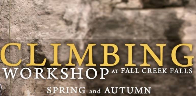 Fall Rock Climbing Workshop at Fall Creek Falls-Friday-September 20, 2019