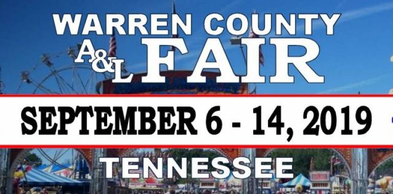 Warren County Fair-September 6-14, 2019