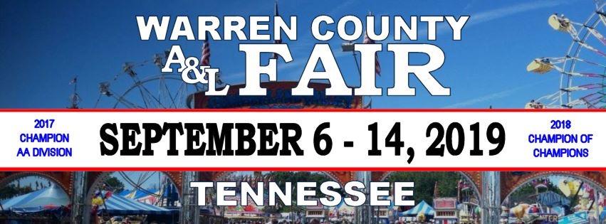Warren County Fair-September 6-14, 2019