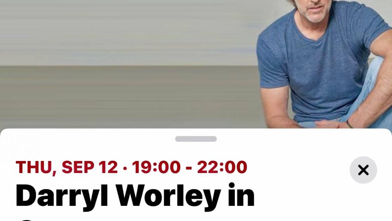 Darryl Worley in Concert-September 12, 2019-Warren County Fair