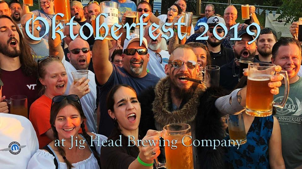 Oktoberfest 2019 at Jig Head Brewing Company