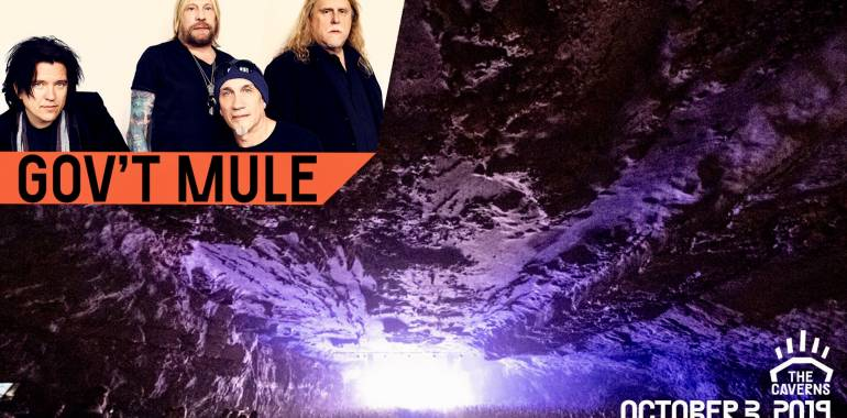 Gov't Mule at The Caverns-October 3, 2019